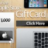 Get FREE $1,000 Apple Store Gift Card