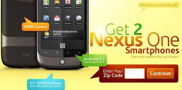 free nexus one
