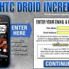Get FREE HTC Droid Incredible